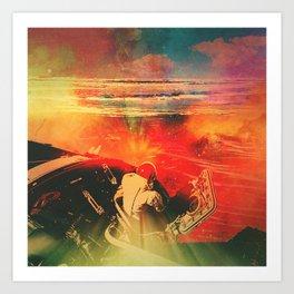Psychonaut II Art Print