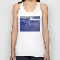 geology Tank Tops featuring Frozen Sea of Neptune by Phil Perkins