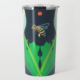 Honey Bee + Bloodroot Travel Mug