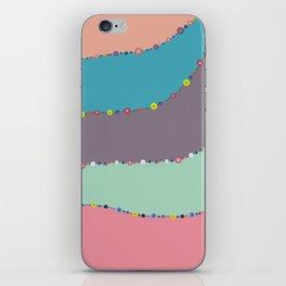 Undulate 1 iPhone Skin