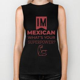 Mexislang! - IM MEXICAN Biker Tank