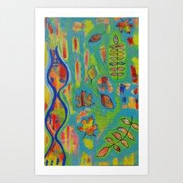 """Winds of Change"" Original painting by Toni Becker, Artfully Healing Art Print"