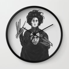 Bored With My Old Hairstyle Wall Clock