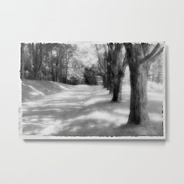 Tree Line Metal Print