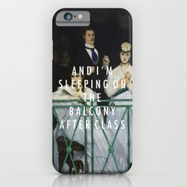 Balcony After Class iPhone Case