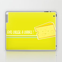 Give cheese a chance Laptop & iPad Skin