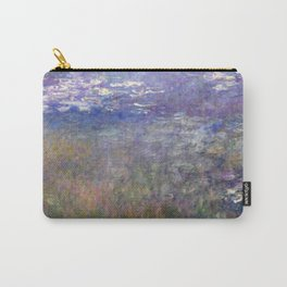 1926-Claude Monet-Water Lilies-199 x 425 Carry-All Pouch