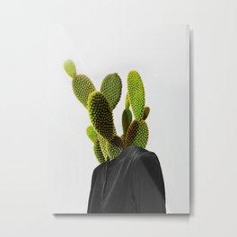 Cactus Woman 1 Metal Print