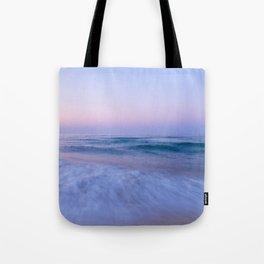 The Sea at Dusk Tote Bag