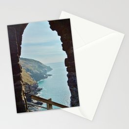 TINTAGEL CASTLE A ROOM WITH A VIEW Stationery Cards