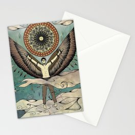 Icarus.  Stationery Cards