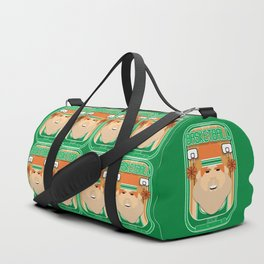 Basketball Green - Court Dunkdribbler - Josh version Duffle Bag