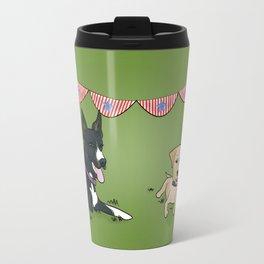 Patriotic Pups Travel Mug