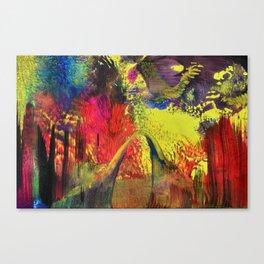 Abstract 100 - Fantasy World Canvas Print