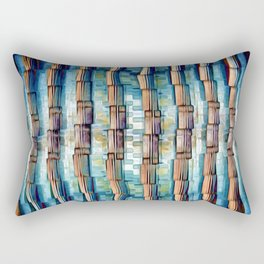 Abstract Architectural Pillars Rectangular Pillow