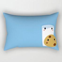 Milk and Cookie Rectangular Pillow