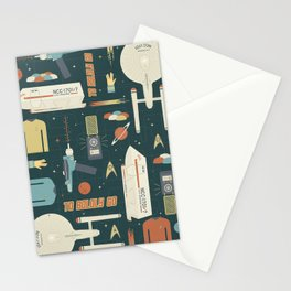 To Boldly Go... Stationery Cards