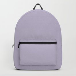 PPG Glidden Trending Colors of 2019 Wild Lilac Pastel Purple PPG1175-4 Solid Color Backpack