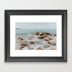 Playa Chacala Framed Art Print