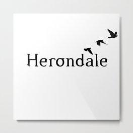Herondale Metal Print