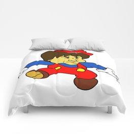 Jump Man Shigeru Miyamoto Comforters