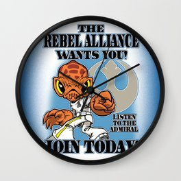 The ADMIRAL Needs YOU! Wall Clock