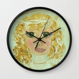 Angel Celeste Wall Clock