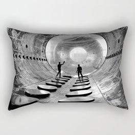 Interior of the 20-foot diameter vacuum tank at the NASA Lewis Research Centers Electric Propulsion Rectangular Pillow