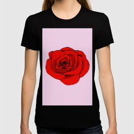 Red Rose. T-shirt