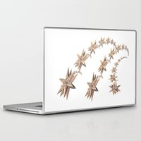 constellation Laptop & iPad Skins featuring constellation by Tanja Riedel