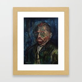 Vincent van Gogh (oil on canvas) Framed Art Print