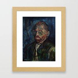 Vincent van Gogh (oil on canvas) Framed Art Print