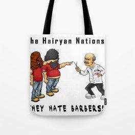 The Hairyan Nations Tote Bag