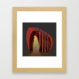 Entrance To The Unknown / Elephant 2 Framed Art Print