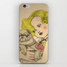 Vintage photo iPhone & iPod Skin
