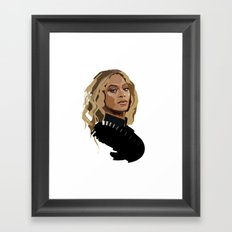 Bey Framed Art Print