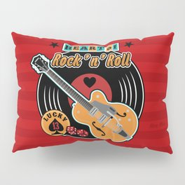 Heart of Rock 'n Roll Pillow Sham