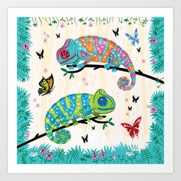 Seeing Spots Art Print