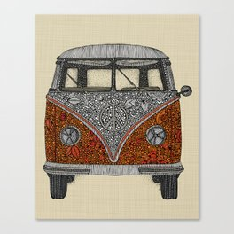 The camper Canvas Print