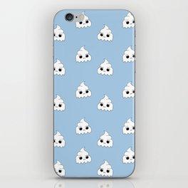 ghost poopies iPhone Skin