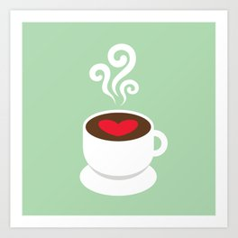 A Cup of Love Art Print