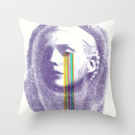 Lacryma Color 2 Throw Pillow