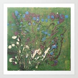 Lost Flowers Art Print