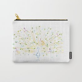 Pollocks Peacock Carry-All Pouch