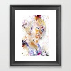 June Framed Art Print