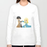 ouat Long Sleeve T-shirts featuring OUAT - Captain Swan by Choco-Minto