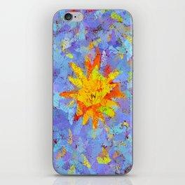 Crinkled Sunshine iPhone Skin