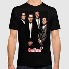 GOODFELLAS X-LARGE Black Mens Fitted Tee