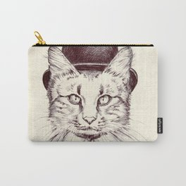 Hand drawn cat Carry-All Pouch
