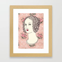 Lady IV Framed Art Print